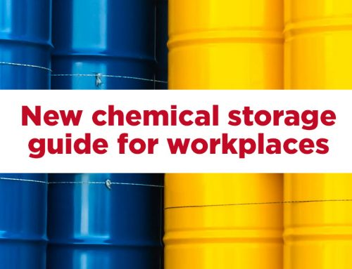 Managing chemicals in the workplace