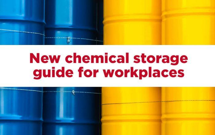 Managing chemical