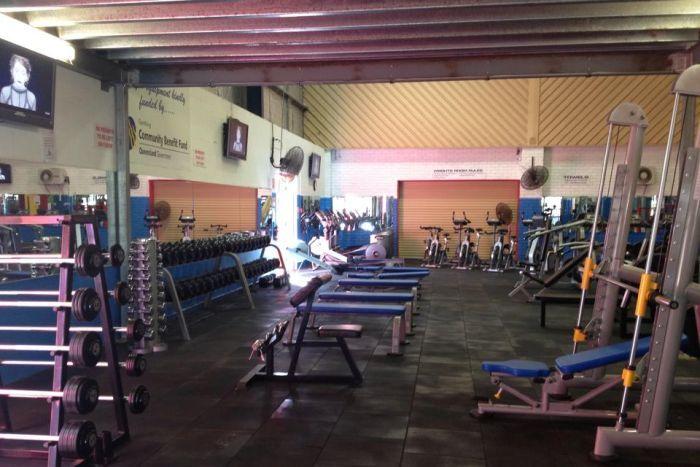 Pine rivers gym where Ben Shaw was injured.