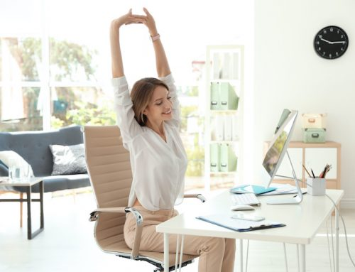 Working from Home | Quick Stretches To Do At Your Desk