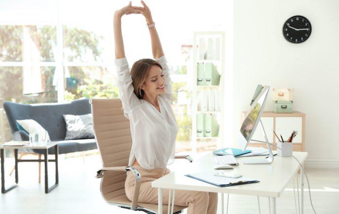 Stretching at work