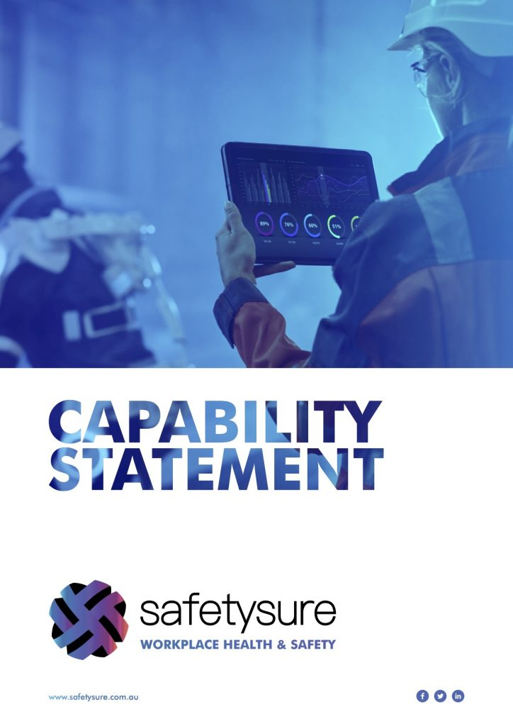 Capability Statement Safetysure Work Health & Safety Consultants